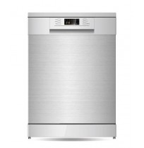 Parmco 600mm Freestanding Dishwasher, LED, Stainless Steel: PD6-PSL-2