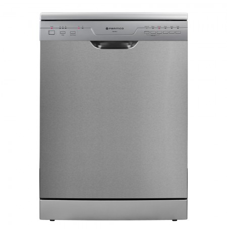 Parmco 600mm Freestanding Dishwasher, Economy, Stainless Steel: PD6-PSE-3