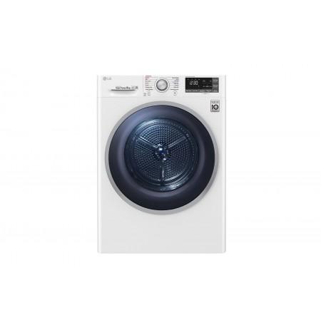 LG 8kg Heat Pump Dryer: TD-H803CSW