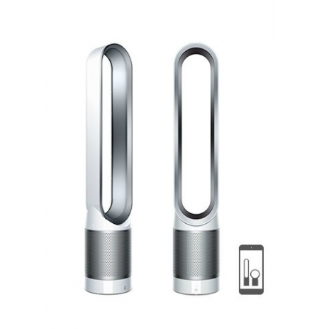 Dyson Pure Cool Link™ Tower Fan & Purifier White/Silver: TP03