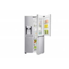 LG 665L Side by Side Fridge with Door-in-Door: GS-D665PL