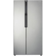Samsung 584L Side by Side Door Stainless Steel Fridge: SRS583NLS