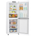 LG 310L Anti-fingerprint Stainless Steel Bottom Mount Fridge: GB-310RPL