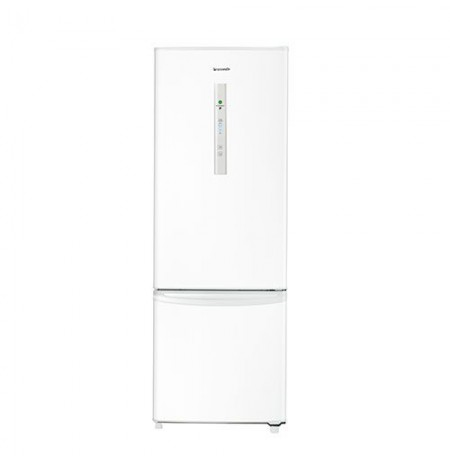 Panasonic 342L Bottom Mount Fridge Freezer: NR-BR34AMWAU