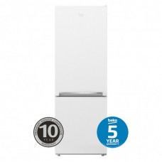 Beko 335L Bottom Mount Fridge Freezer, White: BBM335W