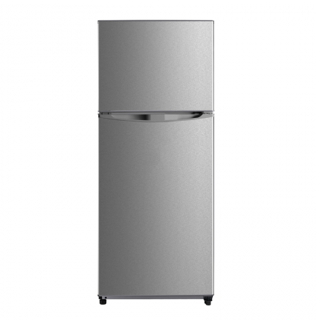 Midea 400L Top Mount Fridge Freezer Stainless Steel: JHTMF400SS