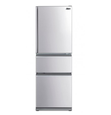 Mitsubishi Fridge 370L Two Drawer Stainless Steel: MRCX370EJSTA2