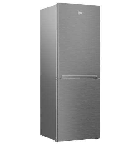 BEKO 320L Stainless Steel Bottom Mount Refrigerator: RCNA340K30ZX