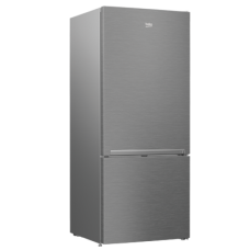Beko 450L Stainless Steel Bottom Mount Fridge: RCNE450K40ZX