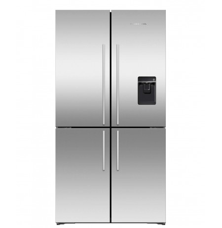 Fisher & Paykel 605L French Quad Door Fridge: RF605QDUVX1