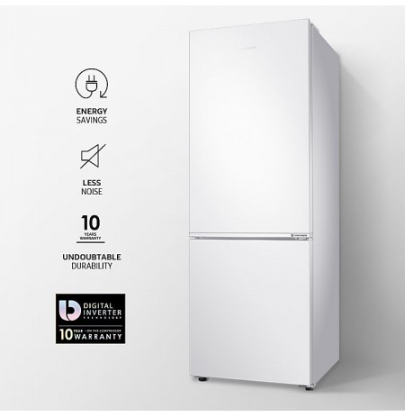 Samsung Bottom Mount Fridge Freezer: SRL336NW