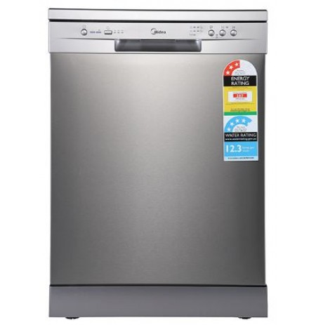 Midea 14 Place Setting Dishwasher - Stainless Steel: JHDW143FS