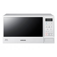Samsung 23L White Microwave with Ceramic Enamel Interior: ME83D-1W