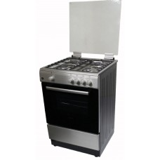 Award Free Standing Cooker GAS-GAS Hob and Oven Stainless Steel