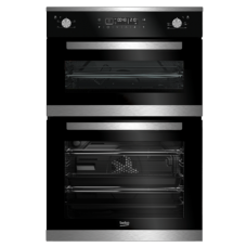 Beko Mulitfunction Built-in Double Oven: BDM25400XM