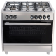 Omega 90cm 9 Function 135L Dual Fuel Cooker: OF914X