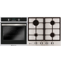 Parmco Verso 4 Pack 600mm Oven and 600mm Gas Cooktop: Verso 4
