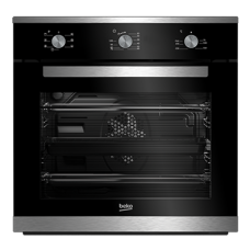 Beko 60cm Multifunction Built-In Oven: BIM25101XM