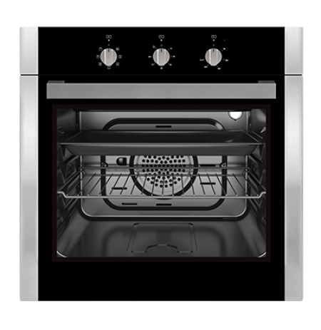 Omega 60cm Multifunction Electric Oven: OBO653X