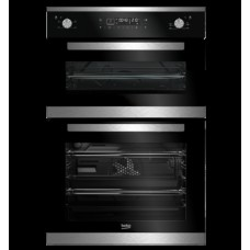 Beko Mulitfunction Built In Double Oven: BDM25400XM