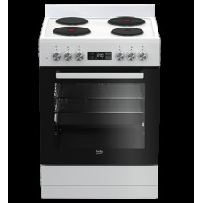 Beko hotplate freestanding oven: BFC60EMW