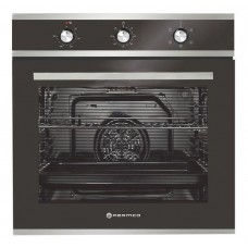 Parmco Oven 600mm 76Litre Oven, 5 Function, Stainless Steel: OX7-2-6S-5