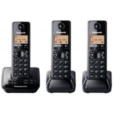 Panasonic DECT Cordless Telephone Triple Pack: KX-TG2723NZB