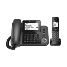 Panasonic Digital Corded/Cordless Phone: KX-TGF380AZM