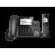 Panasonic Digital Corded/Cordless Phone: KX-TGF380AZM