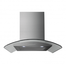 Midea 60cm Curved Glass Rangehood: E60MEW2V71