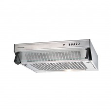 Parmco 60cm Glass Front Caprice Rangehood Stainless Steel: T5C-6S-350
