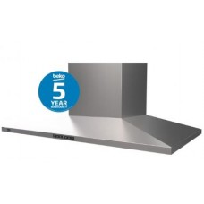 Beko 90cm Stainless Steel Slim Rangehood: BRH90CX