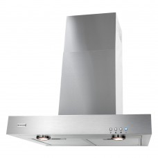 Parmco 60cm Stainless Steel Box Canopy Rangehood: RBOX-6S-1000L