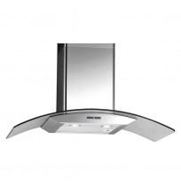 PARMCO 900mm Digimax Canopy, Curved Glass:T4-15DM-CUR-1