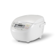 Panasonic 1L 6 Cup Fuzzy Logic Multicooker and Rice Cooker: SR-CN108WST