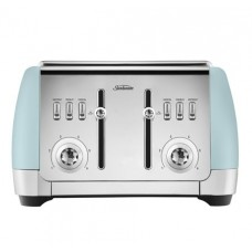 Sunbeam London Blue 4 slice toaster: TA2240B