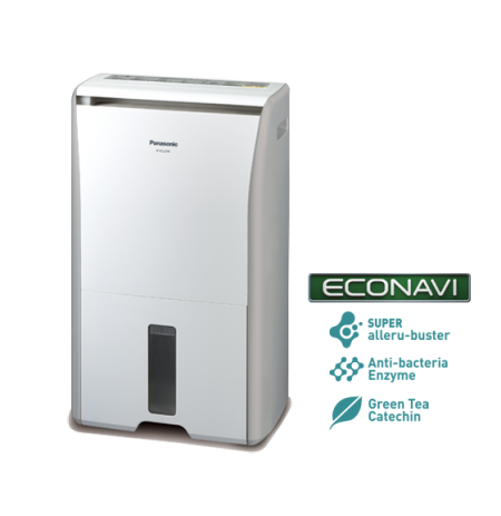 Panasonic ECONAVI Super Allergy-buster Dehumidifier: F-YCL27N