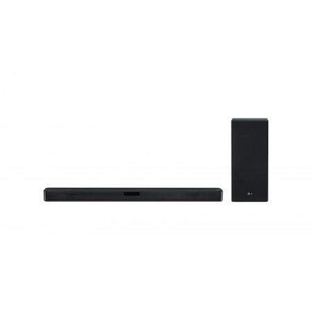 LG 2.1 Channel Soundbar & Subwoofer: SL5Y