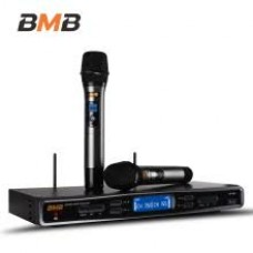 BMB Wireless Mic System with two WM500 MIC: BMB-WB5000-WM500