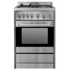 Parmco Freestanding Full Gas, Stainless Steel Stove: FS 600-GAS GAS