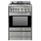 Parmco Freestanding Full Gas, Stainless Steel Stove: FS600-GAS GAS