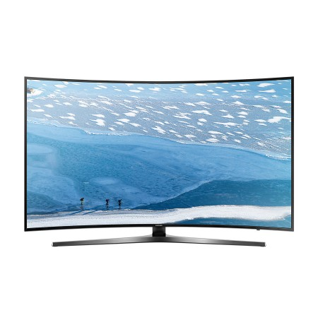 "Samsung 55"" Curved Ultra HD 4K Smart TV: UA55KU7500SXNZ"