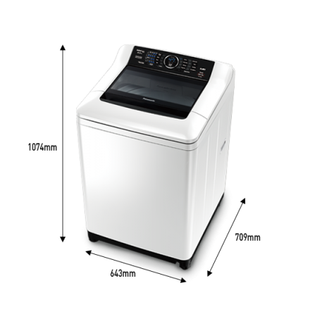 Panasonic Top Loader Washing Machine: NA-F85A1WNZ