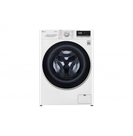 LG 7.5kg Front Load Washing Machine with Steam: WV5-1275W