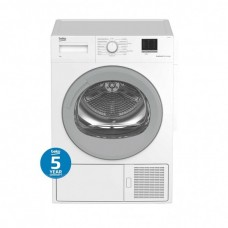 Beko 7kg Sensor Controlled Heat Pump Dryer: BDP700W