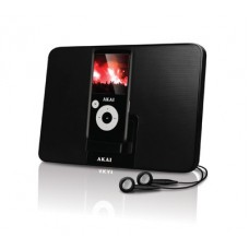 Akai MP3 player with portable speaker: AMP3B1