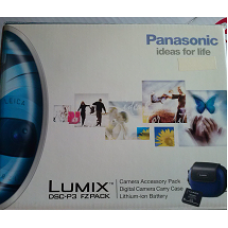 Panasonic Lumix Camera Case and Battery