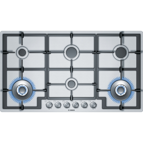 Kitchen Hob Side View ~ Gas cooktops